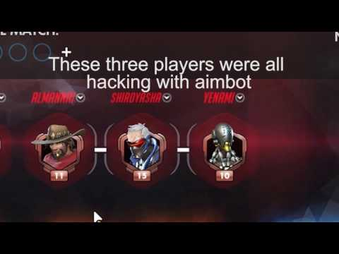 Hackers caught in overwatch