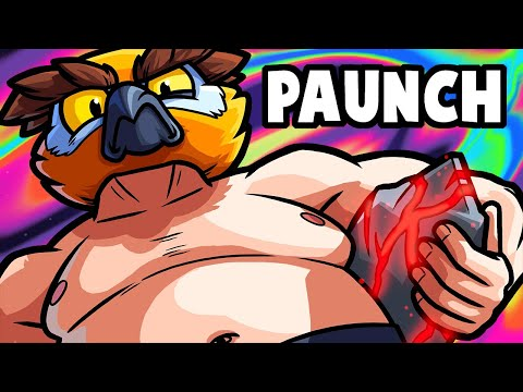 Paunch Funny Moments - Sumo Wrestling with Boulders!