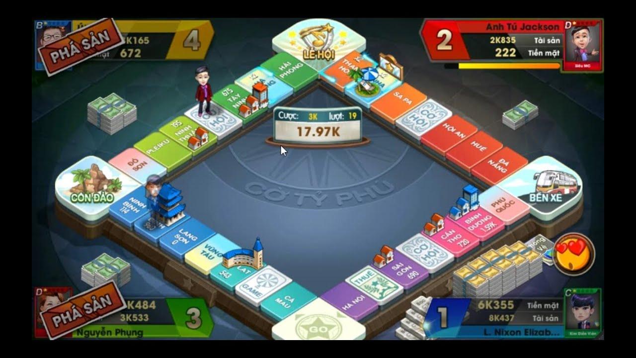 Game Cờ tỷ phú online – Hướng dẫn cách chơi