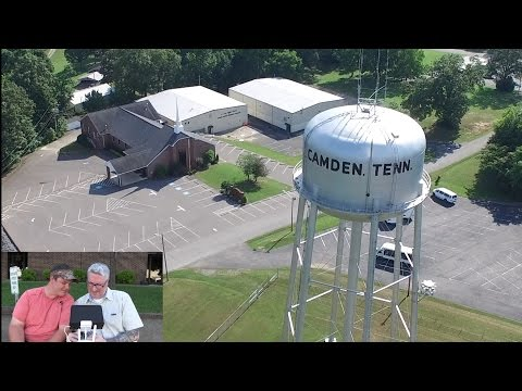 Flying Around Benton County Tennessee