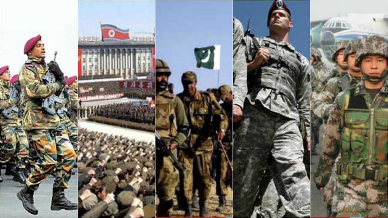 Top Largest And Most Strongest Armies In The World - Largest armies in the world