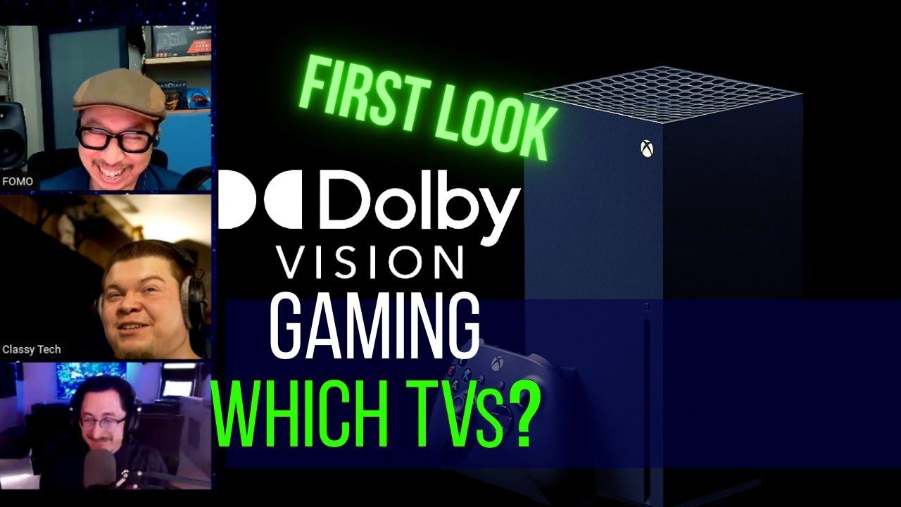 Best TV for Dolby Vision Gaming! et tu Samsung, Sony?