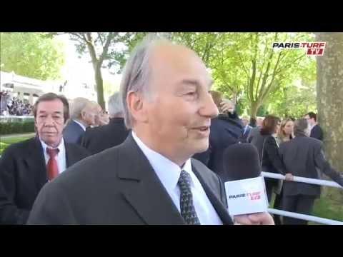 HH the Aga Khan  interviewed by Paris-Turf