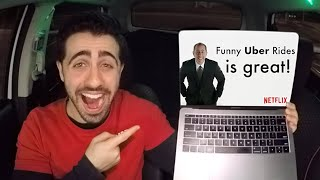 JERRY SEINFELD GAVE ME A SHOUT OUT!! (Funny Uber Rides x Comedians in Cars Getting Coffee)