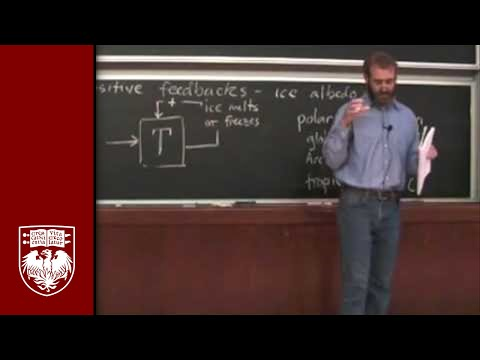 Lecture 12 - Ice and Water Vapor Feedbacks