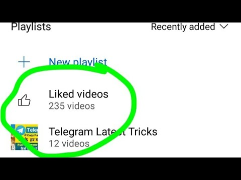 How To Delete Youtube Liked Videos 2021   How To Delete All Liked Videos On Youtube   Just 1 Click