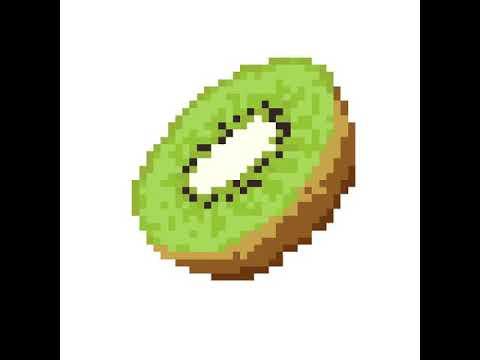 11ème Pixel Art Kiwi Youtube