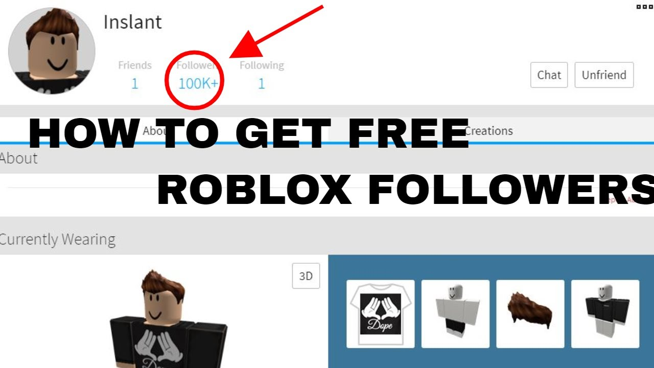 ROBLOX - HOW TO GET 20K+ FOLLOWERS WITH FOLLOWER BOT! - YouTube