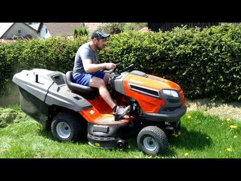 Kubota G23-II HD lawn mower tractor   FunnyCat TV