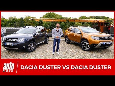 2018 Dacia Duster 2 : le nouveau modèle affronte l'ancien [COMPARATIF]