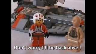 Star Wars Lego Battle of Hoth - Empire Strikes Back Parody (1080p HD)