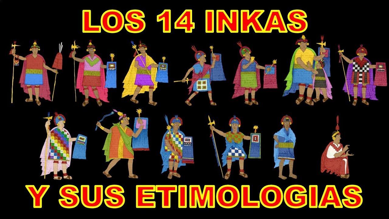 Los 14 Incas Significado De Sus Nombres Rusbel Mollo Parte 1 Youtube