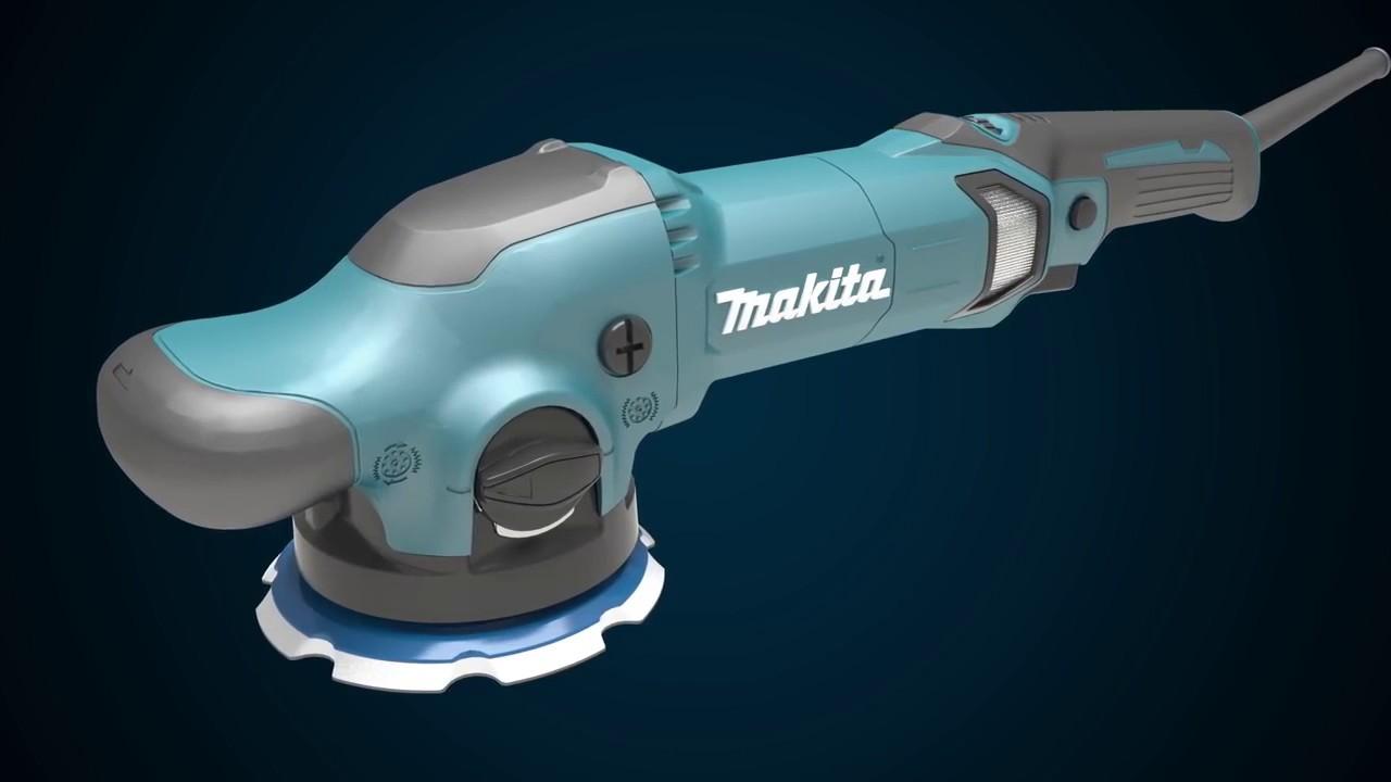 makita random orbit polisher po5000c youtube. Black Bedroom Furniture Sets. Home Design Ideas