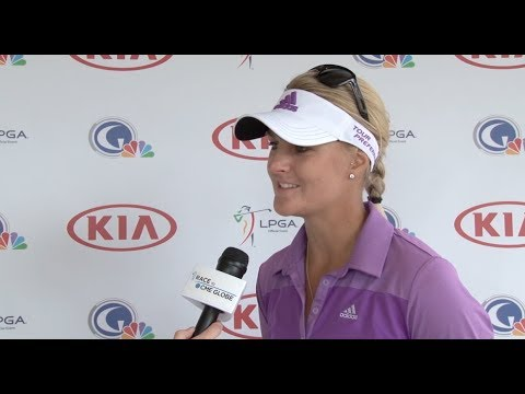 Anna Nordqvist 3rd Round Interview from the 2014 Kia Classic