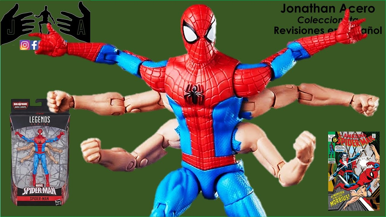 MARVEL LEGENDS KINGPIN BAF NEW IN BOX SPIDER-MAN 6 ARM