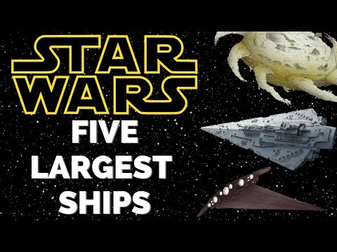 5 Largest Ships in the Star Wars Expanded Universe