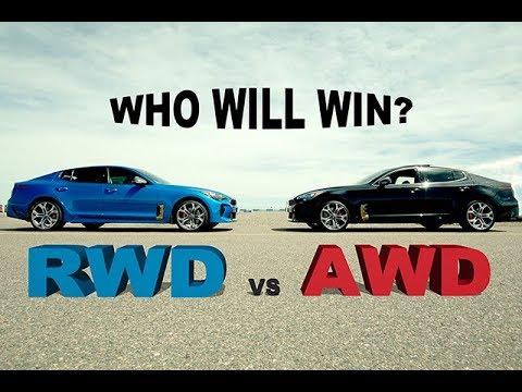 AWD Versus RWD - Kia Stinger GT At The Race Track