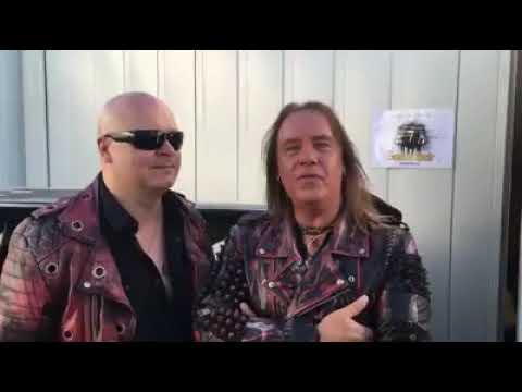 Michael Kiske and Andi Deris @ the Sweden Rock Festival 2018