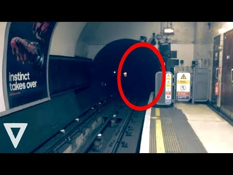 Top 10 Most Scary Things Caught On Camera Subway Train [Top10 VideosWorld]