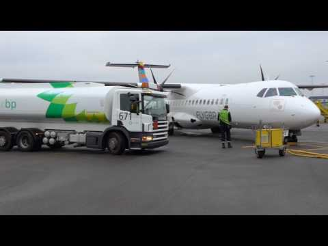 First ATR biofuel flight