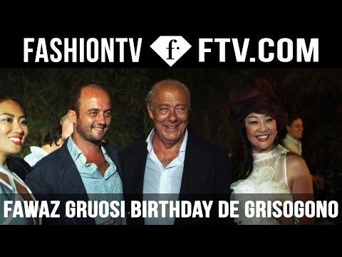 Fawaz Gruosi Birthday Celebration @ Cala Di Volpe , Sardinia Summer 2015 | FTV.com