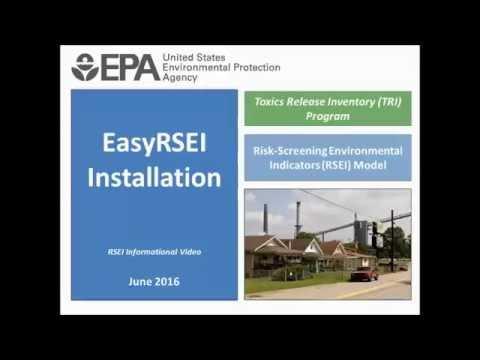 Get EasyRSEI | Risk-Screening Environmental Indicators (RSEI