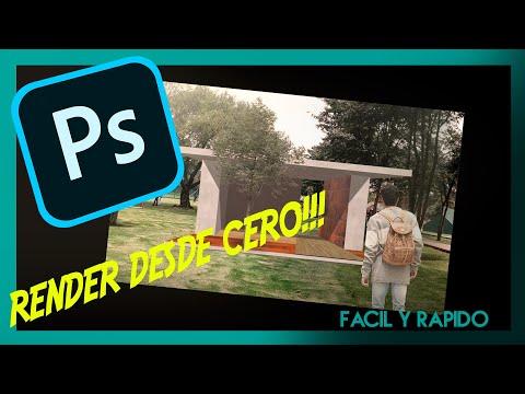 Como Hacer Un Render En Photoshop  Rápido Y Facil
