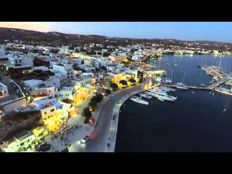 Milos island Greece (drone/phantom3/gopro4) 2015 summer - dji -ドローン