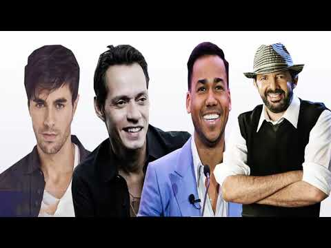 Marc Anthony, Romeo Santos, Enrique Iglesias & Juan Luis Guerra EXItoS ROMántiCos