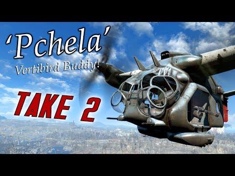 Fallout 4 Mods: Vertibird Pchela 2 - The Sequel! (Actual Review)