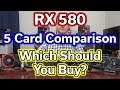 RX 580 - Which Should You Buy? - 5 Card Comparison