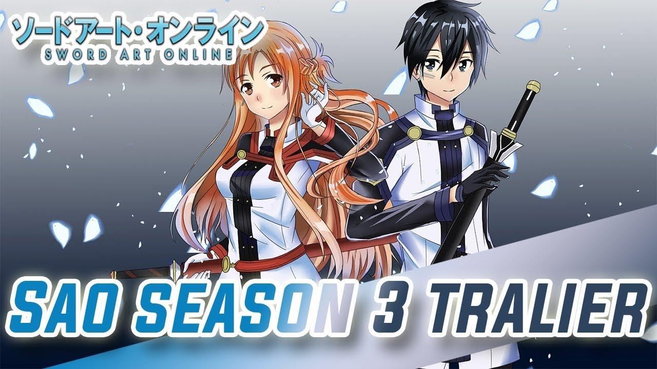 Sword Art Online Season 3 Official Teaser Trailer English Sub