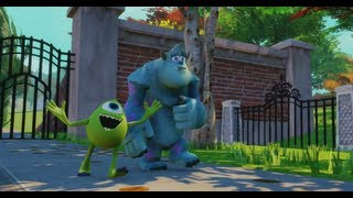 Disney Infinity - Monsters University Play Set - Part 1