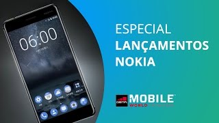Nokia volta aos holofotes com 4 novos aparelhos Android [MWC 2017]