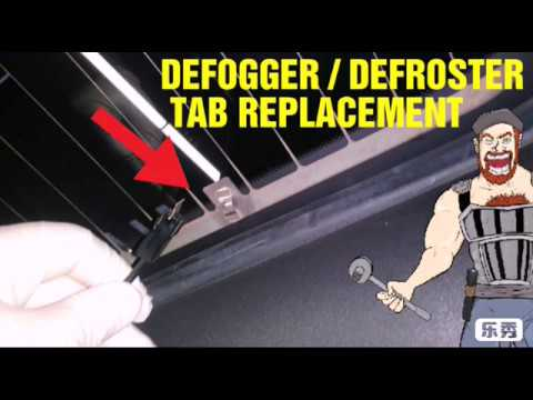 Tab Replacement / Rear  Defroster/Defogger