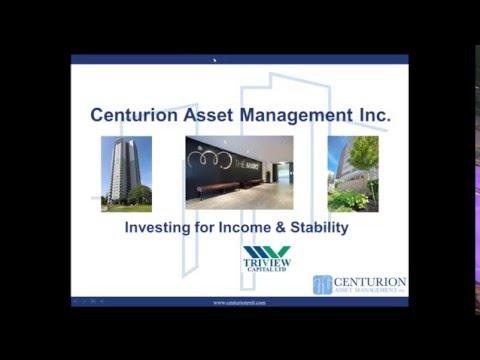 Webinar Series Part 4  Introducing Centurion Asset Management