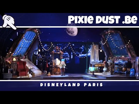 Mickey and the Magician new version with 2 changed scenes at Disneyland Paris  Full HD