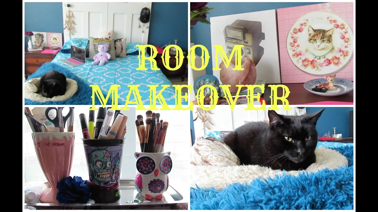 Room makeover bedroom tour youtube for Bedroom jams playlist