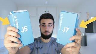 Unboxing y primer encendido del Samsung Galaxy J5 y J7 2017 en español