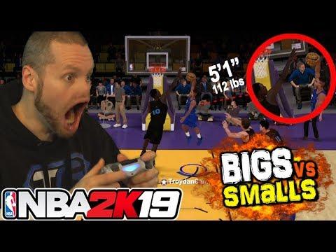 Смотреть NBA 2K19 Smalls vs TALLS! Shortest Players EVER! онлайн