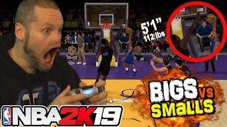 �������� ���� NBA 2K19 Smalls vs TALLS! Shortest Players EVER! ������