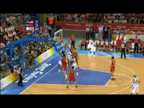 Beijing 2008 Olympic Games Basketball USA - China Mix