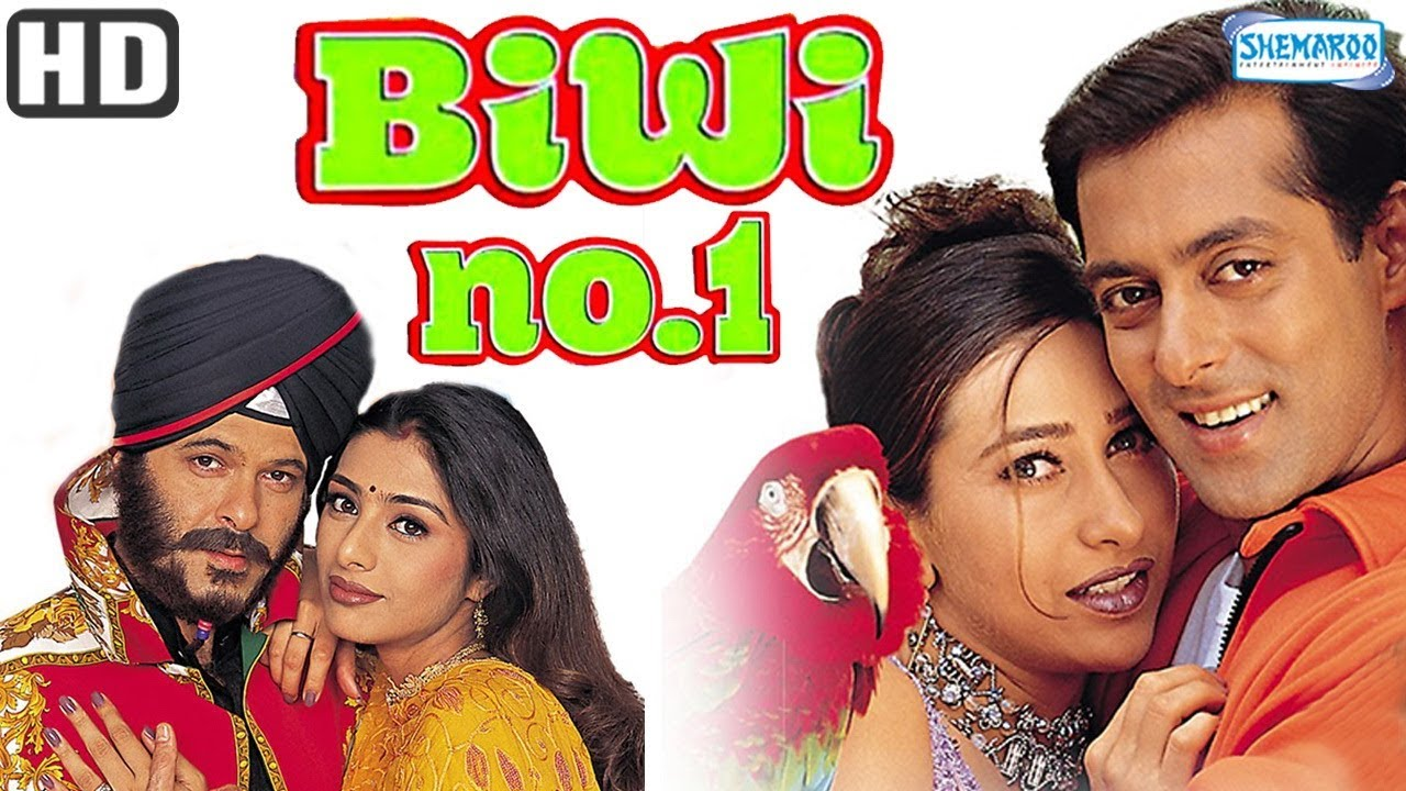 Biwi No 1 (1999) Full Movie - Salman Khan, Karisma Kapoor, Anil Kapoor - Bollywood Comedy Movies