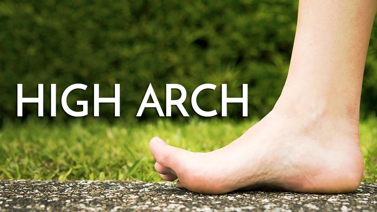Pretty high arch feet accept