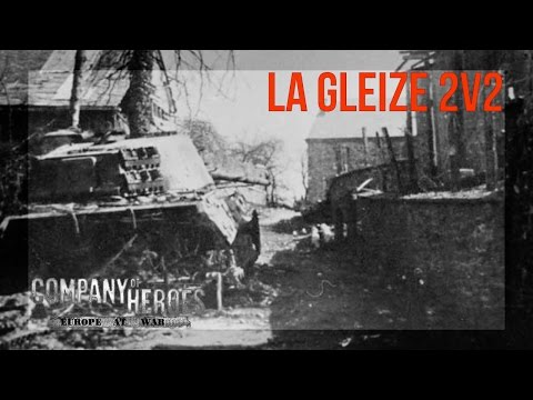 Company of Heroes : Europe at War - Mod - 2vs2 (experts) - Map: La Gleize