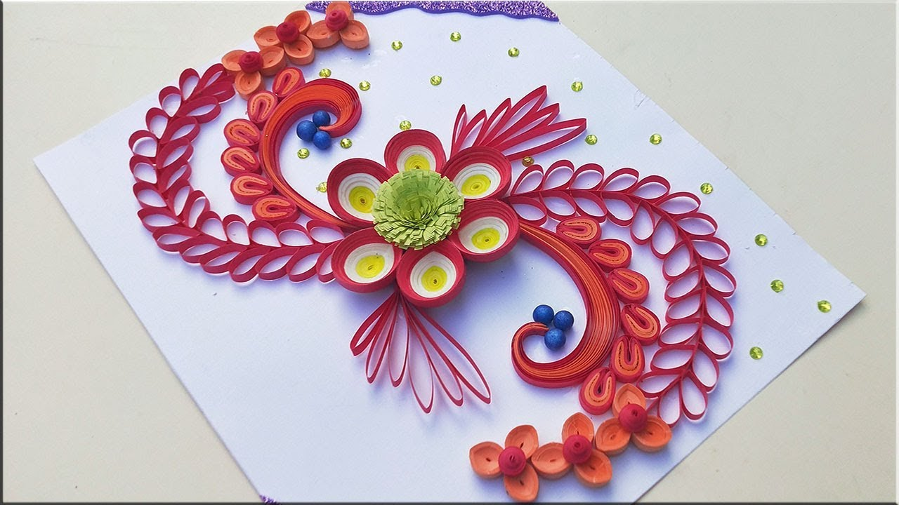 paper art quilling designs on cards how to make a