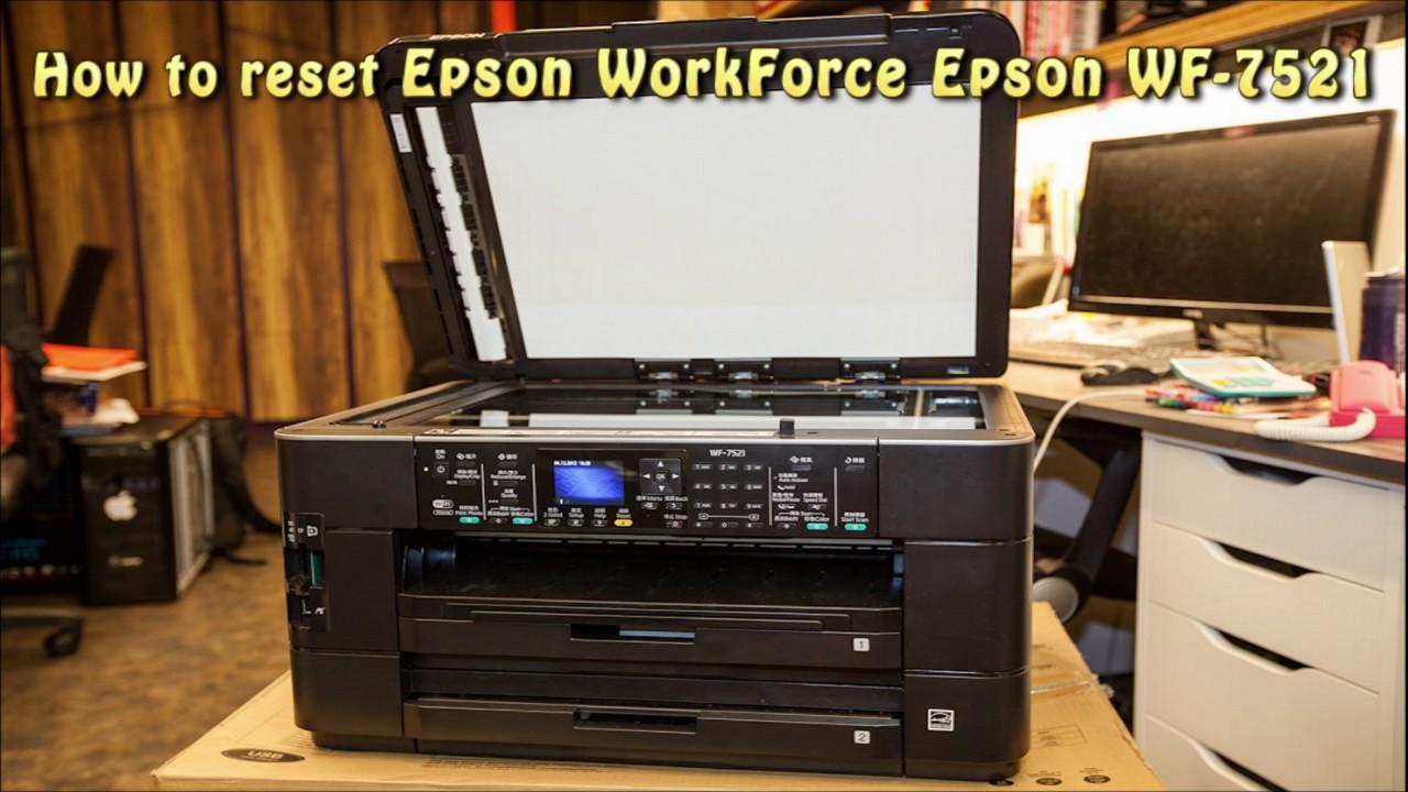 EPSON WF-7521 DRIVER