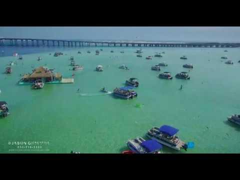 Crab Island, Destin Florida - April 2017