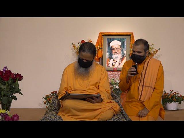 May 11, 2021 Morning Darshan with Paramahamsa Prajnanananda