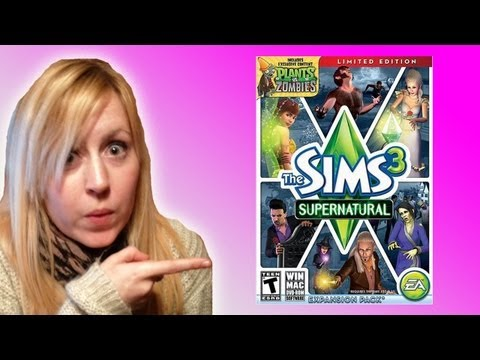SIMS 3 SUPERNATURAL EXPANSION PACK!!!